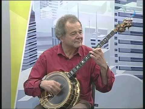 Бернард Швентер и его классическое банджо (18.10.12)
