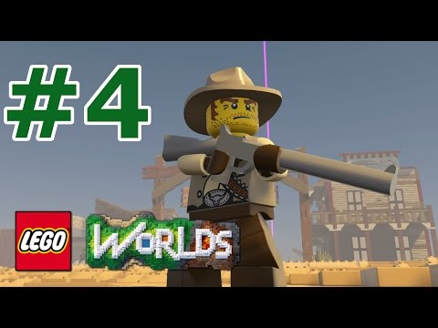 LEGO Worlds: Story Mode Walkthrough: Part 4 - Fearsome Frontier