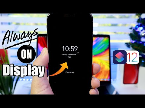 How to Enable The New Always On Display on iPhone iOS 12