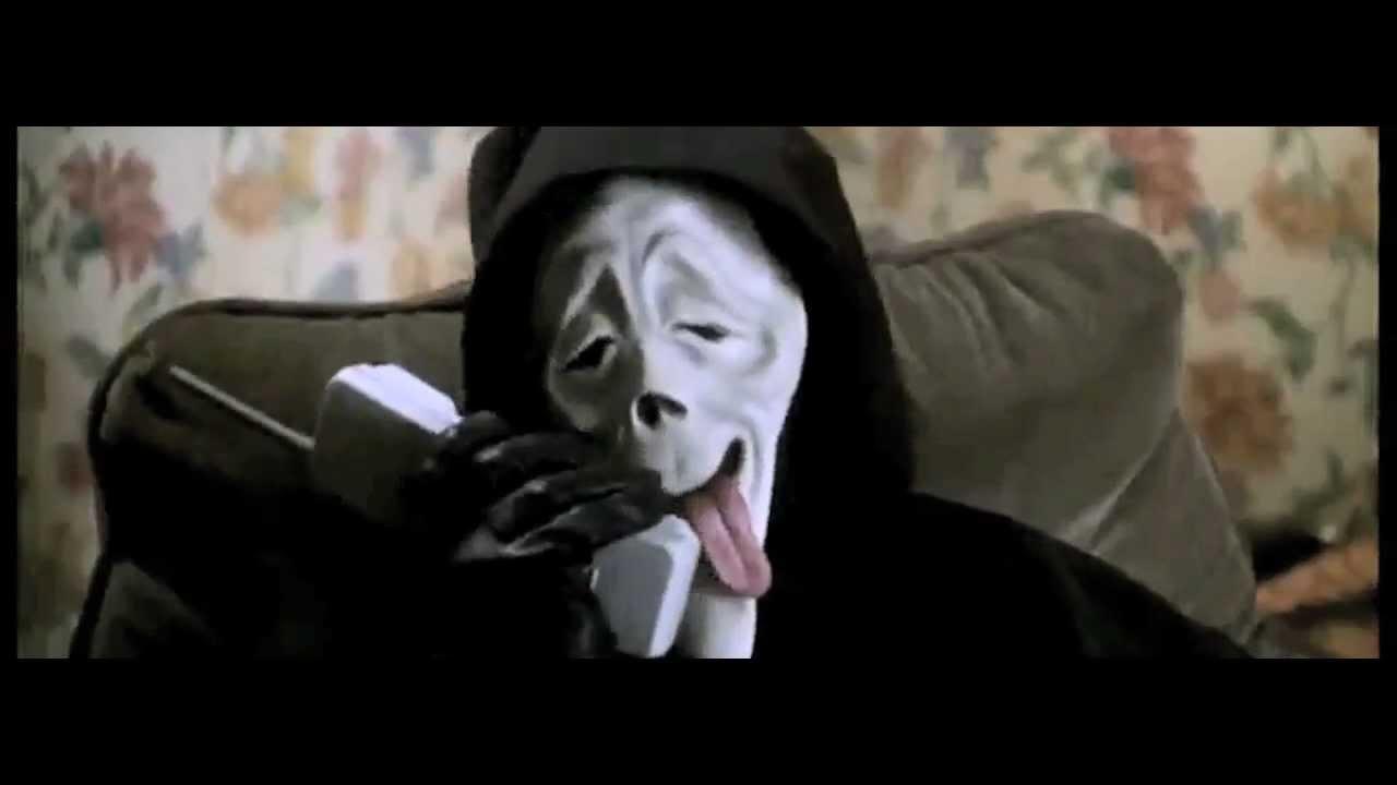 NABILLA - ALLO QUOI VS SCARY MOVIE - YouTube Scary Movie 1 Scream Wazzup