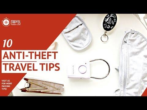 10 Anti-theft Travel Tips