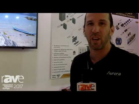 ISE 2017: Aurora Features the iPX-TC2 Transceiver with Dante over Video Capabilities