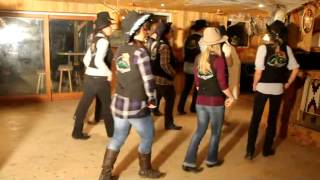 """""""Let Me Call You Sweetheart"""" Pete Rivers. Angie Line & The Green Hill Billies Linedance"""