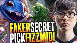 download lagu Faker's New Lck Secret Pick Fizz Midlane - Skt gratis