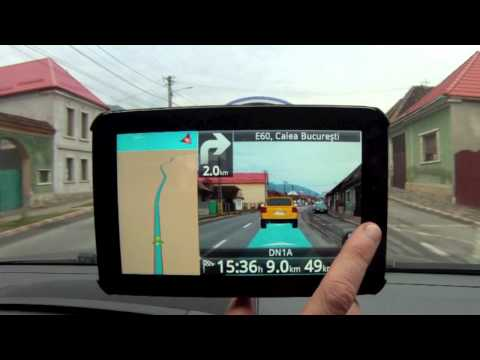 Follow Me augmented reality navigation, test drive (ROUTE 66)