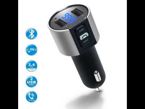 ASOS Bluetooth FM Transmitter & 2 port USB Charger