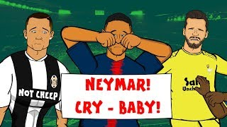 Alisson makes huge mistake REACTION! 📺 GOGGLE IN THE BOX with 442oons 📺 ft. Neymar & Ronaldo