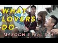 Maroon5 - What Lovers Do (Cover by Vidi Aldiano, Sheila Dara, Boy William) MP3