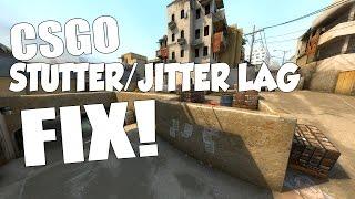 CSGO   HOW TO FIX JITTER/STUTTER LAG ONLINE!!