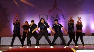 The Showstoppers Crew| WINNERS| Utsav '18
