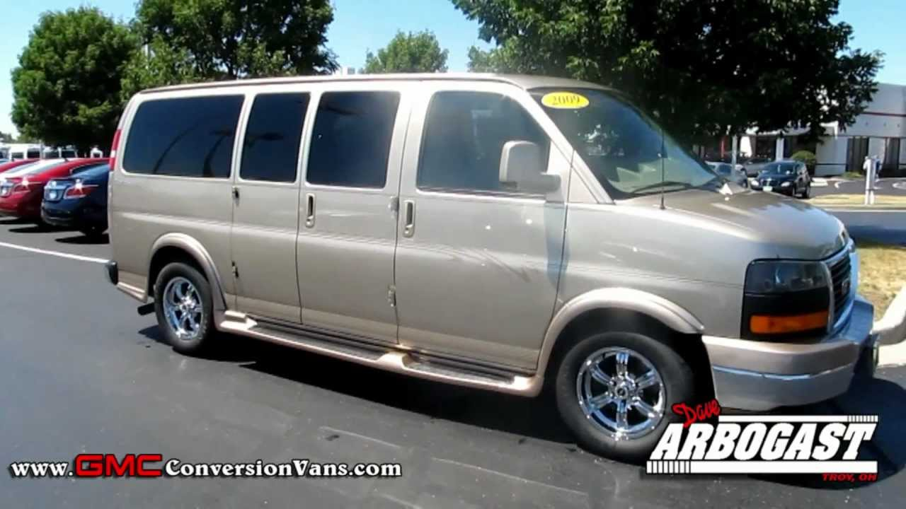 Used 2009 GMC Explorer Low Top Conversion Van - Gold Mist ...