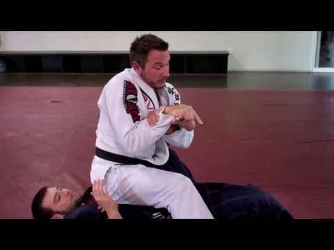 BJJ Foot Lock from North South Position