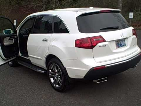 2010 acura mdx advance beaverton oregon portland or youtube. Black Bedroom Furniture Sets. Home Design Ideas