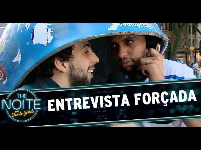 The Noite (19/12/14) - Entrevista Forçada EP04