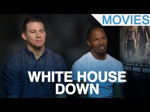 Channing Tatum, Jamie Foxx And Roland Emmerich Talk 'White House Down'