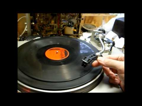Modification of a Technics SL-D1 turntable to play 78 rpm