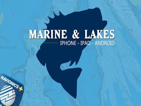 Navionics Marine & Lakes Mobile Tutorial [iPad and iPhone]