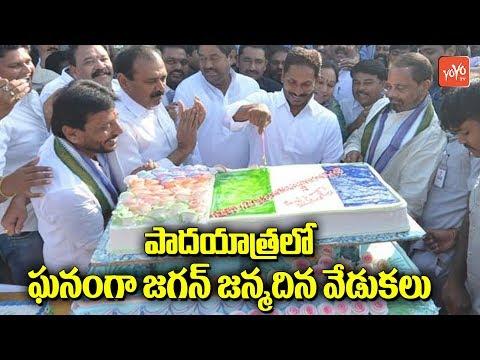 YS Jagan Birthday Celebrations With Party Activists   YS Sharmila   Jagan Fans   YOYO AP Times