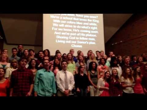Great Lakes Adventist Academy school song by Bruce Reichert from Cedar Lake - 10/16/2013