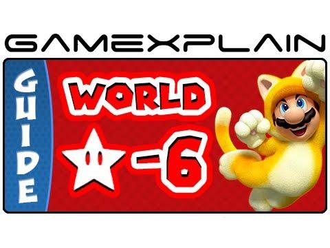 Super Mario 3D World - World Star-6 Green Stars & Stamp Locations Guide & Walkthrough