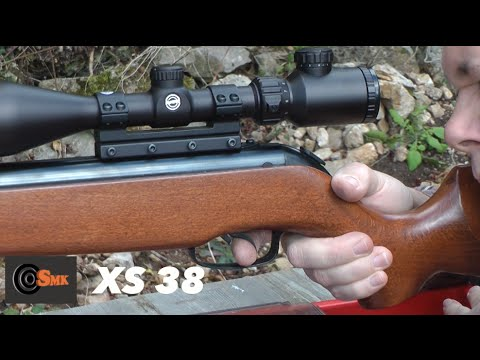 AIRGUN TEST - SMK XS38 / XISICO XS46U Air Rifle - Hunting Air Rifle