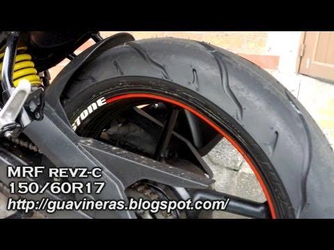 Llanta 150/60R17 - Yamaha FZ16