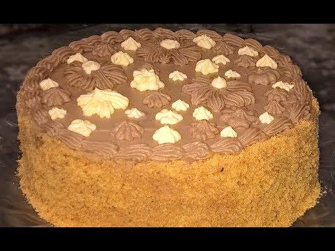 Торт Киевский. Как приготовить Киевский торт в домашних условиях.