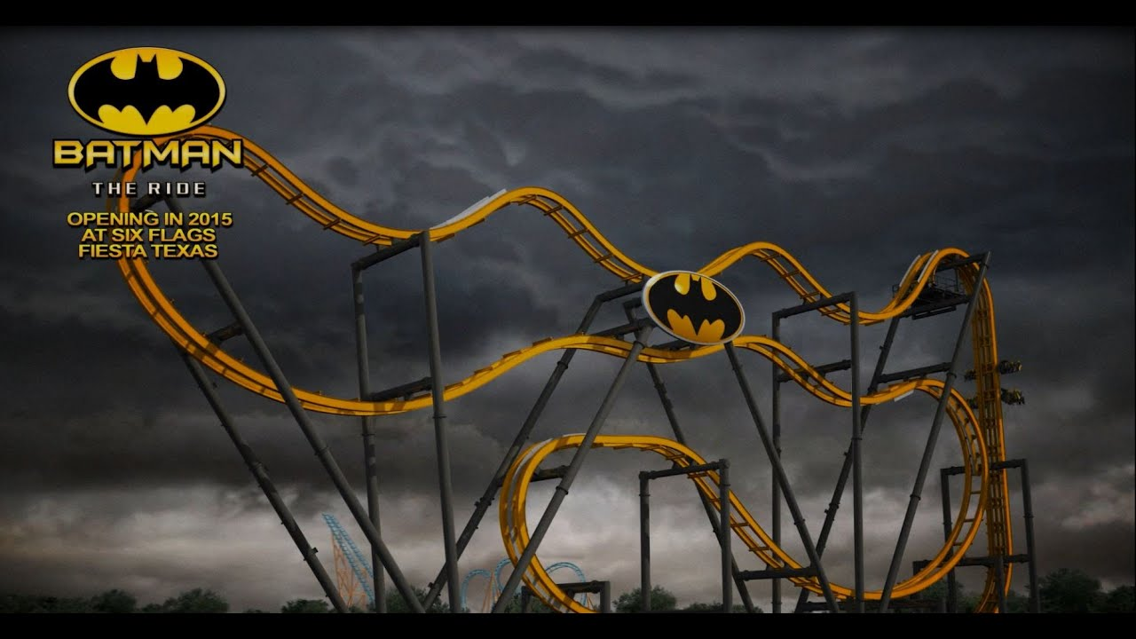 Roller Coaster Rides at Six Flags Six Flags Batman The Ride Pov
