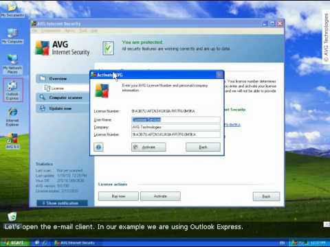 AVG Tutorial | How to reactivate AVG or AVG trial with license number