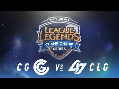 CG vs. CLG - Week 2 Day 1 | NA LCS Spring Split | Clutch Gaming vs. Counter Logic Gaming (2018)