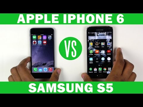 Apple iPhone 6 VS Samsung Galaxy S5 Full In-Depth Comparison