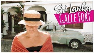 GALLE FORT Solo Travel Vlog | Tour + Top Restaurants