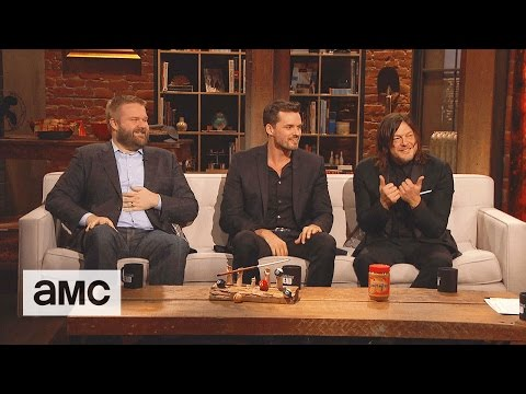 Talking Dead: 'Andrew Lincoln's Prank on Norman Reedus' Audience Question Ep. 708
