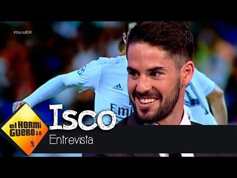 """Isco: """"Nunca he felicitado a ningún jugador del Barça"""" - El Hormiguero 3.0"""