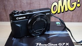 Canon G7X Mark 2 - Unboxing and Review / Распаковка и Обзор