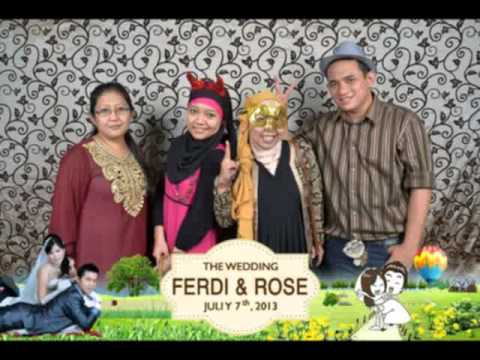 Photo Booth Event Resepsi Wedding UlangTahun Anniversary Birthday Jakarta Murah IRIS PhotoBooth