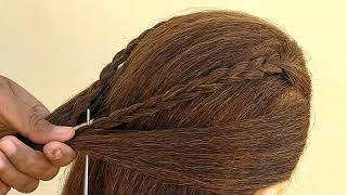 Simple//Easy Hairstyle For Daily//Everyday Use
