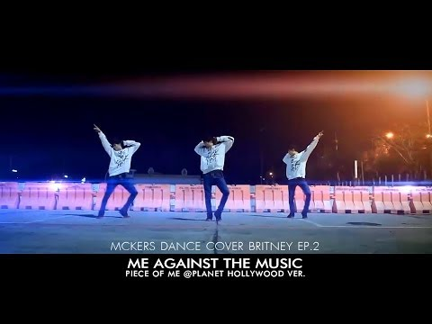 Britney Spears - Me Against The Music (pom Ver) Dance Cover By Mckers (ep.2) video