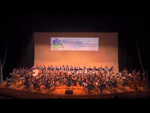 CHIJ Concert Band 31st Mar 2012 - The Lion King