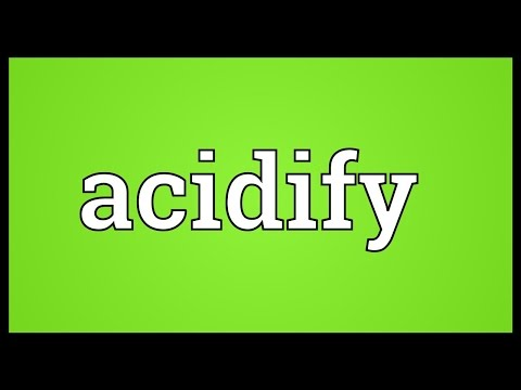 Header of acidify
