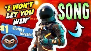 """FORTNITE SONG """"I Won't Let You Win"""" by Not a Robot (Cover by TryHardNinja)"""