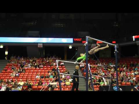 Madison Desch - Uneven Bars - 2012 Secret U.S. Classic