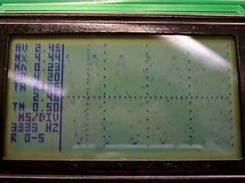 PIC18F2550 GLCD Oscilloscope 1