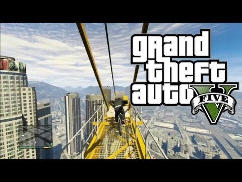 BIGGEST BIKE JUMP EVER! - GTA 5 Funny Free Roam Moments Montage (Grand Theft Auto 5)