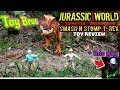 jurassic world fallen kingdom thrash and throw t-rex toy review.mp3