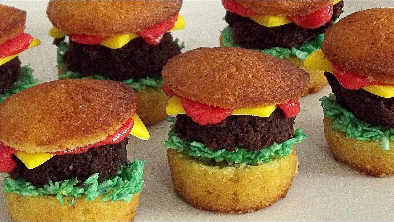Hamburger Muffins - YouTube