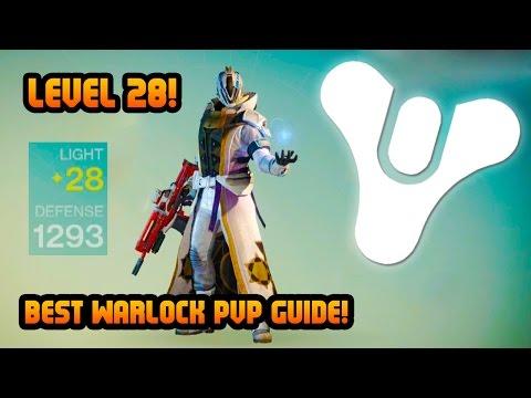 Destiny Level 28 Warlock! Best Warlock PVP Multiplayer Tips & Tricks Guide! (Destiny Gameplay)