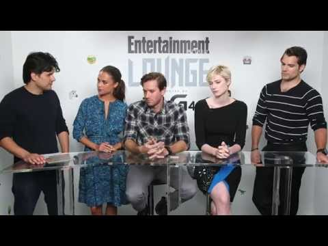 Man from U.N.C.L.E. Cast Comic Con Interview with Entertainment Weekly
