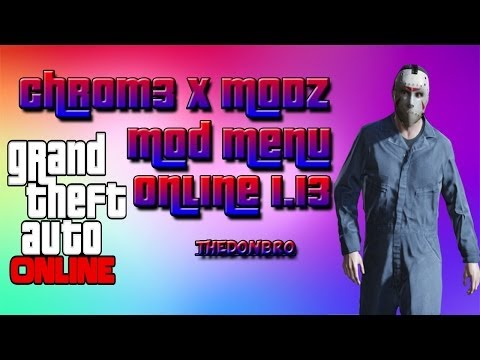 GTA 5 Online - Mod Menu Xbox360 - Made By Chr0m3 x MoDz