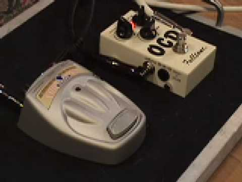 Danelectro COOL CAT drive pedal vs Fulltone OCD V4 overdrive guitar effects demo w Les Paul & Dr Z